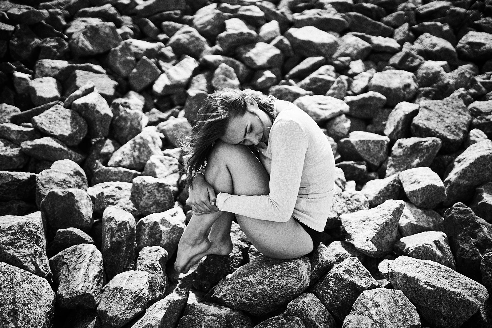 Amélie - Fotoshooting am Meer